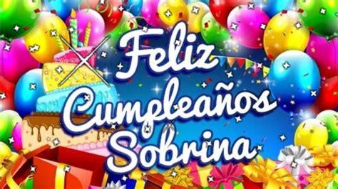 imagenes de happy birthday para sobrinos feliz cumplea 241 os sobrina youtube