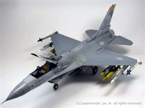 Www Papercraft Au - papercraft model f 16 fighting falcon papercraft