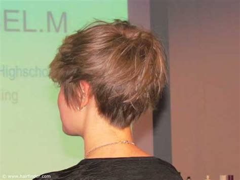 short hairstyles cut into the neck 20 back view of pixie haircuts pixie cut 2015