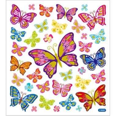 Sticker Bestellen Kinder by Vlinder Thema Kinder Stickers Knutsel Ideeen Nl