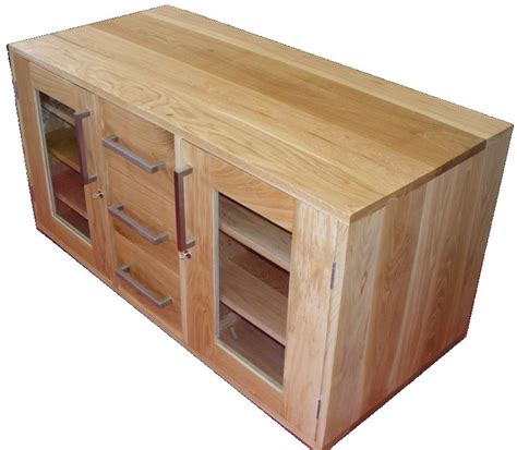 Handmade Tv Unit - handmade solid oak tv cabinet