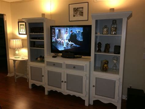 chalk paint entertainment center newly painted with chalk paint entertainment center put