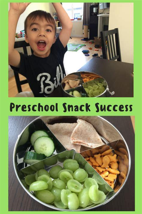 preschool snacks preschool snack success thanks to without plastic