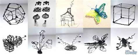 3d doodle pen ideas 3doodler la primera pluma 3d marcianos