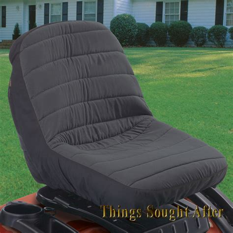 lawn mower seat covers large lawn tractor seat cover for deere mtd cub cadet
