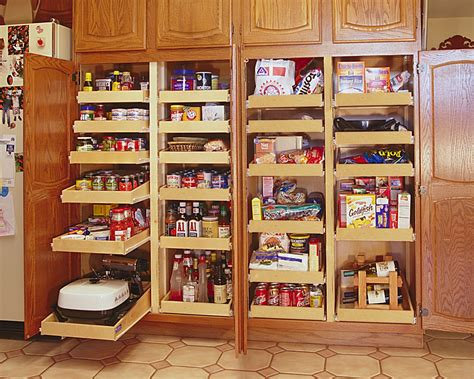 Kitchen Food Pantry Cabinet Kitchen Food Pantry Cabinet With Pull Out Shelves And Made From Solid Wood Field Decor