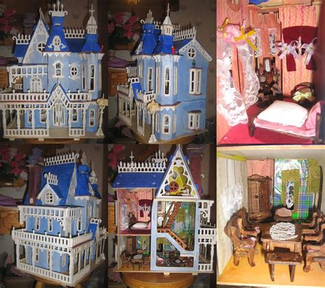 victorian wooden dolls house victorian doll house wood made by sinestromaster on deviantart