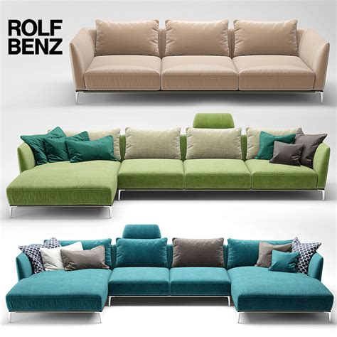rolf benz couch 3d model sofa rolf benz