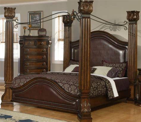 furniture luxury and elegant canopy bed design four poster canopy bed with elegant antique four poster