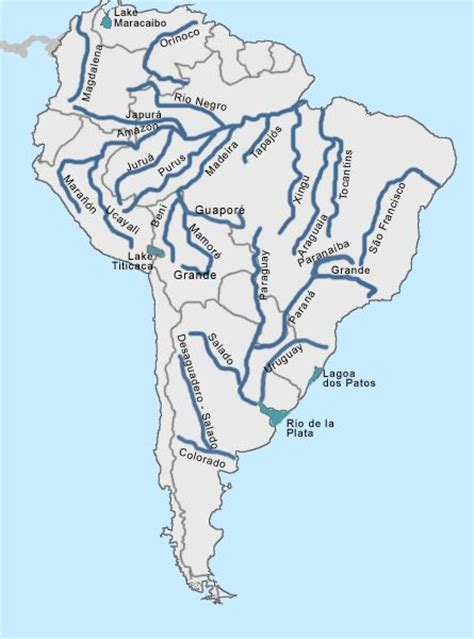 america map quiz answers south american rivers printable quiz search