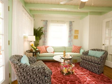 eclectic living room by two story cottage photo page hgtv