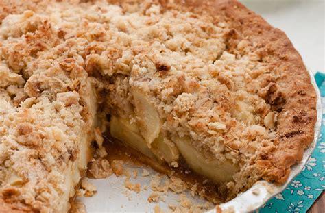 apple crumble apple crumble pie recipe dishmaps