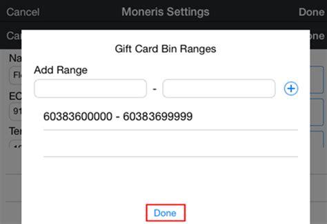 Moneris Gift Cards - setting up your moneris payment gateway canada touchbistro