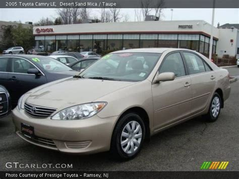 2005 Toyota Camry Interior by Desert Sand Mica 2005 Toyota Camry Le Taupe Interior