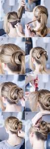 cool easy step hairstyles awesome cool and easy party hairstyle step by step for