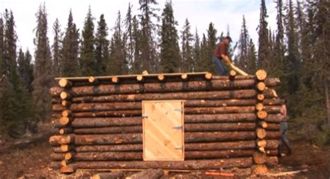 Where Can I Build A Log Cabin by Tiny Pioneer Log Cabin In Alaska Built In 15 Days