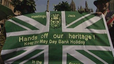 may day bank uk morris dancers hold may day bank plan protest
