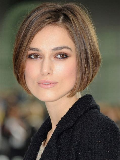 hair styles for strong feature keira knightley short haircut front and back short