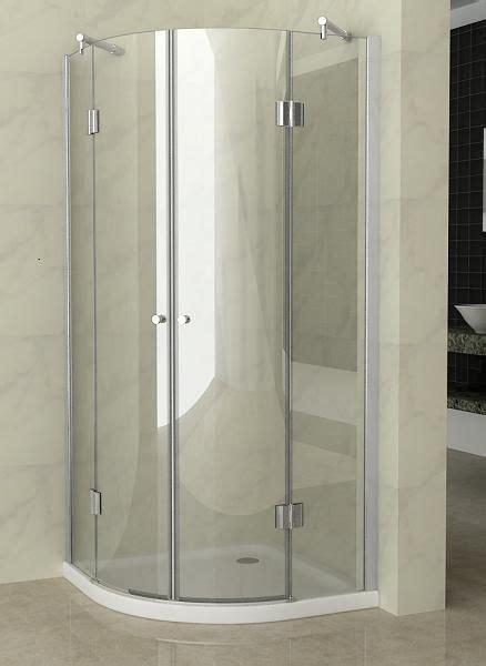 doccia semicircolare box doccia cristallo 8 mm semicircolare doppio battente