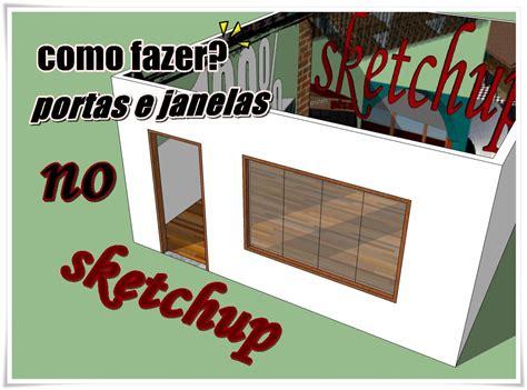 como fazer layout no qgis como fazer portas e janelas sketchup youtube