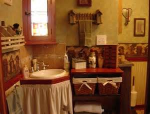 Primitive Country Bathroom Ideas » Home Design 2017