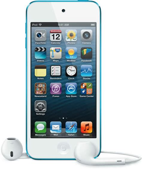 ipod touch 5th gen blue » apple launches 5th gen ipod