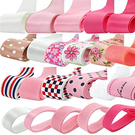 3434 Top Impor Ribbon imported phenovo grosgrain ribbon mixed pattern for crafts diy 22pcs multi color 15013109mg