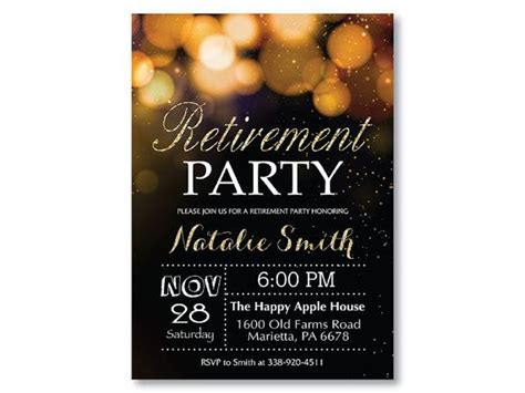 Invitations Images Retirement Party On Free Printable Retirement Party Invitations Templates Free Retirement Invitation Flyer Templates