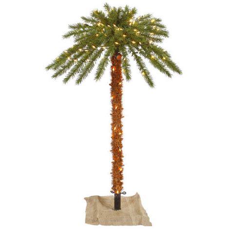 4 Ft Christmas Palm Tree Pre Lit 4 Ft Lighted Tree