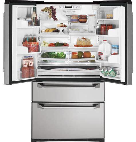 Ge Monogram Door Refrigerator by New Ge Monogram 21 Cuft Door Two Drawer Stainless