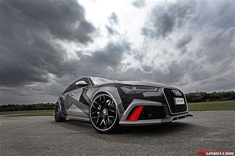 Official: Audi RS6 Avant by Schmidt Revolution   GTspirit