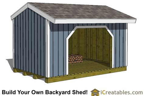 8x12 Shed Foundation by 8x12 Firewood Shed Plans Icreatables