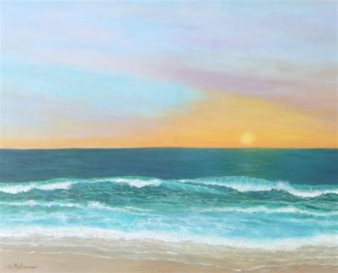 spray painter northern beaches colorful sunset paintings beaches sunset
