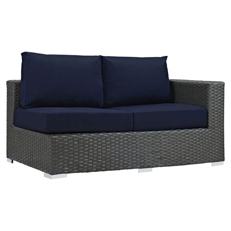 outdoor sectional sunbrella sojourn 7 pieces outdoor patio sectional set sunbrella