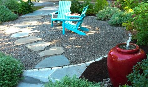 How To Lay Gravel In Backyard by Gravel Patios What You Need To Bob Vila