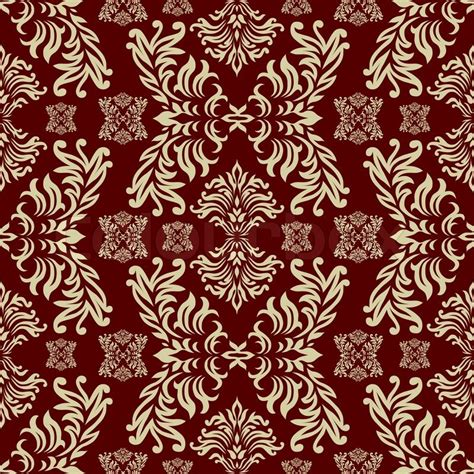 Home Design Decoration by Maroon Seamless Repeat Design With A Floral Themed