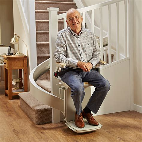 used chair lifts for seniors curved stairlifts for stairs