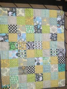 Then i made a girl quilt made with 5 inch scraps this one turned out