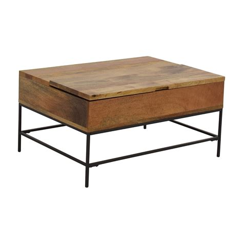 west elm industrial desk 63 off west elm west elm industrial storage coffee