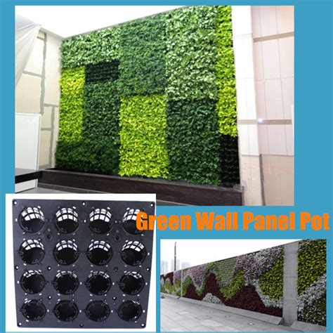 living wall panel outdoor planter home design