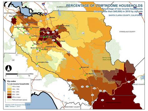 housing authority santa clara county percentage of low income housing in santa clara county california haas institute
