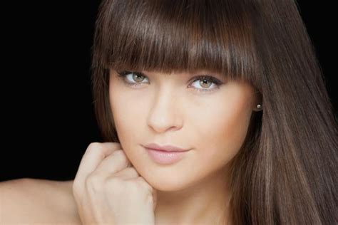 going out hairstyles with fringe 5 types of fringe hairstyles