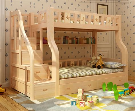 cama litera de madera madera chico cama litera cama de dos pisos para ni 241 os
