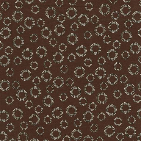 by the yard fabric brown and blue circles fabric by the yard blue fabric