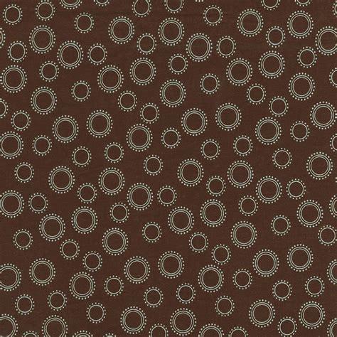 100 design house 20x50 the four circular fabric brown and blue circles fabric by the yard blue fabric