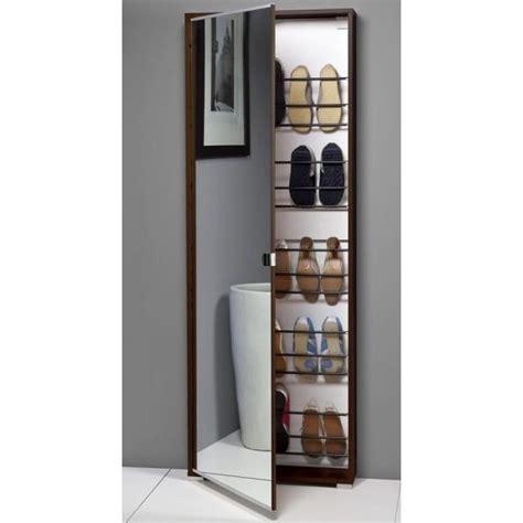 scarpiera armadio colonna a due ante scarpiera anta specchio salva spazio weng 232