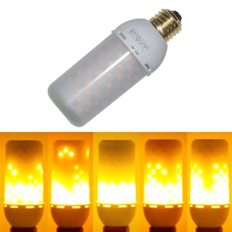 Led Light Bulbs Flickering Junolux Led Decorative Lights Flicker Light Bulb Effect Bulb Decor Ebay