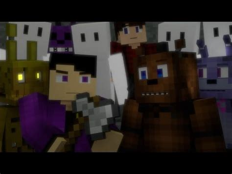 'look at me now' | fnaf minecraft music video | 3a disp