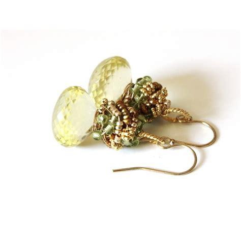 Lemon Earring lemon quartz earrings