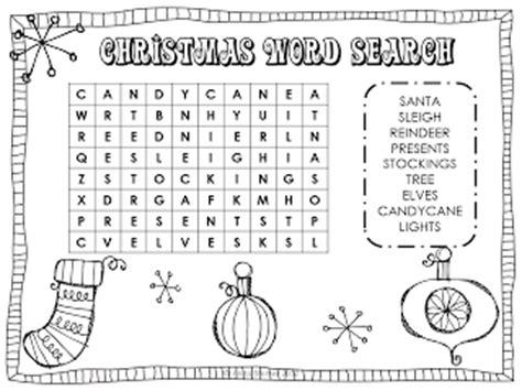 christmas wordsearch for kindergarten printable 7 christmas wordsearch for kids free easy